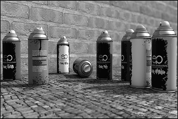 Latas de aerosol
