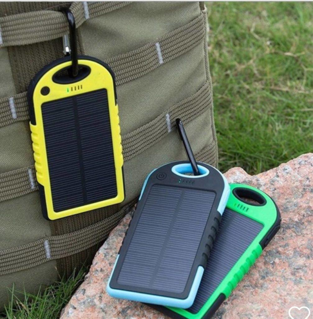 Cargador portátil solar