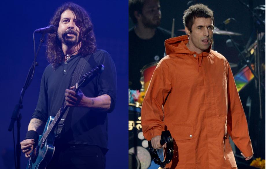 Foo Fighters y Liam Gallagher