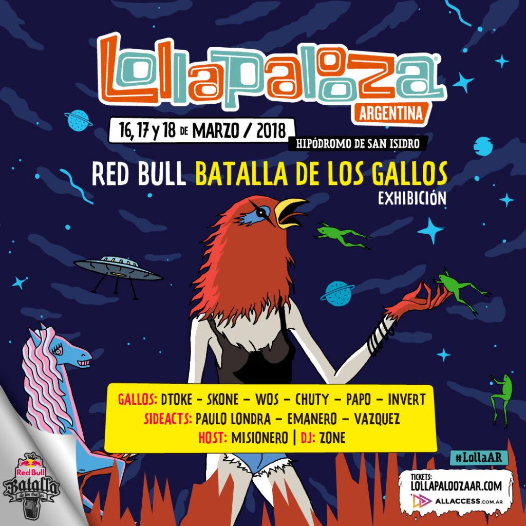 Red Bull en el Lollapalooza Argentina