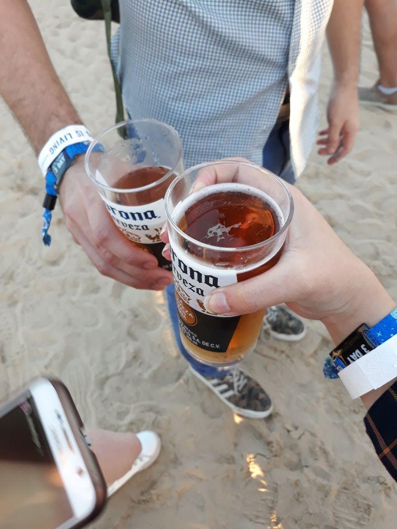 Beer Garden Corona