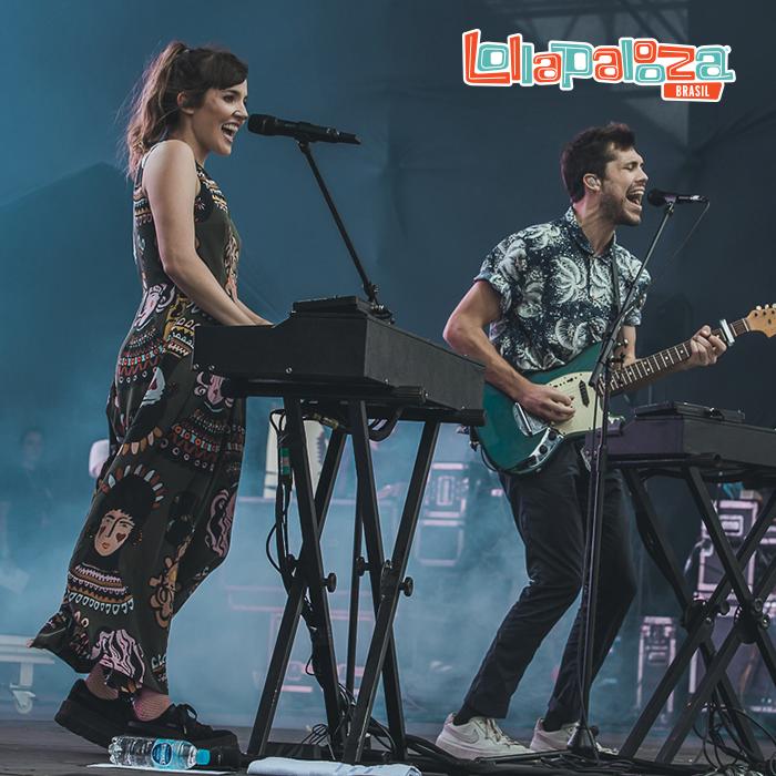 Oh Wonder en el Lollapalooza Brasil 2018