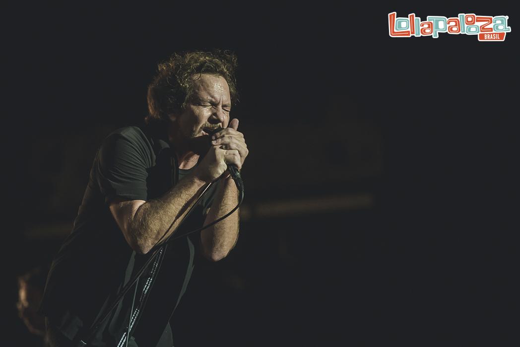 Pearl Jam en el Lollapalooza Brasil 2018