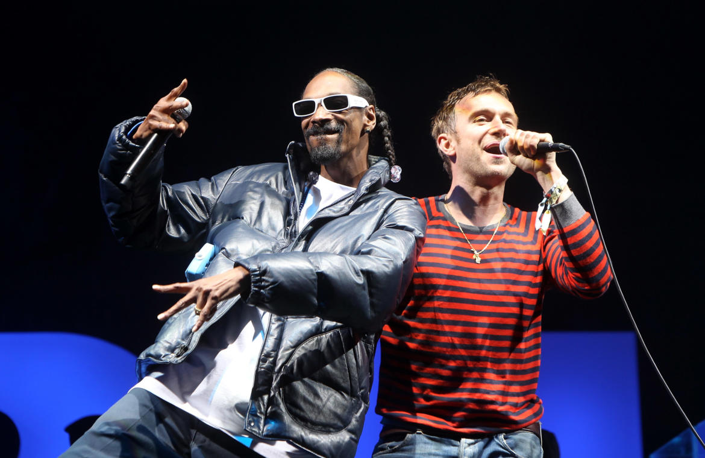 Gorillaz lanza Hollywood junto a Snoop Dogg