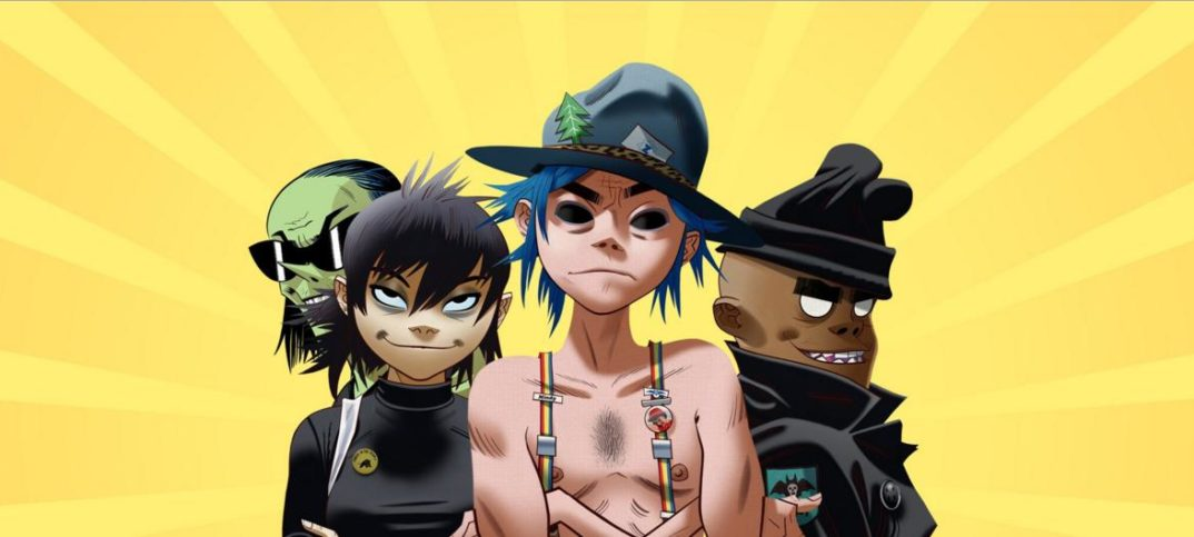 Gorillaz presentó por streaming su nuevo álbum The Now Now