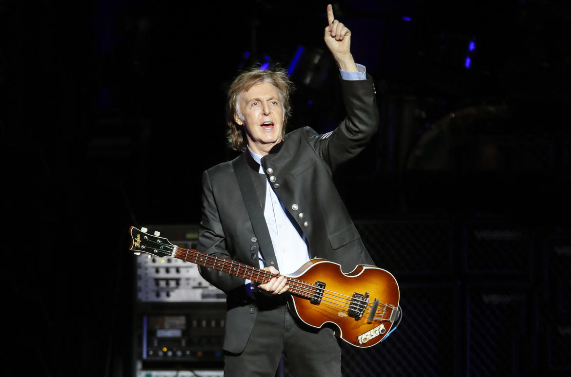 Paul McCartney casi encabeza el Lollapalooza 2019