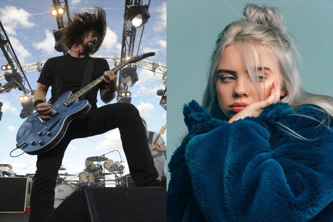 Dave Grohl compara a Billie Eilish con Nirvana