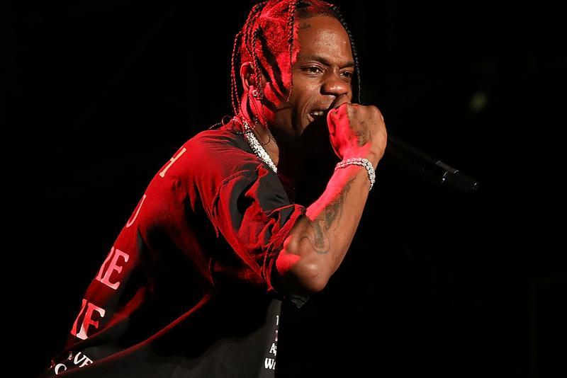 Travis Scott es uno de los artistas que podría encabezar el Lollapalooza 2020