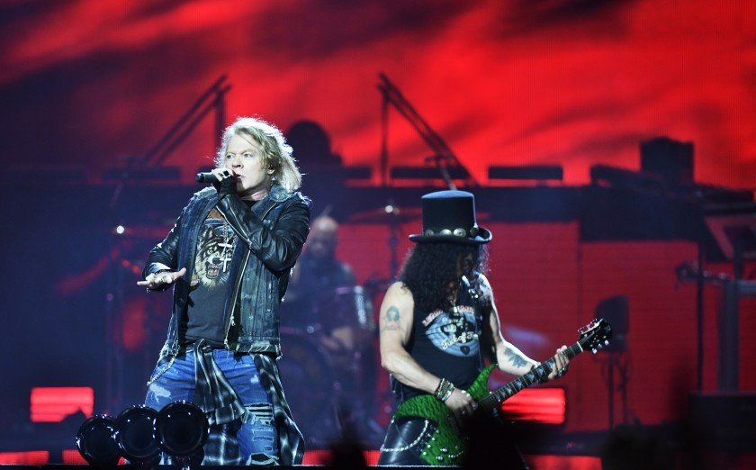 Artistas del Lollapalooza 2020 - Guns N' Roses