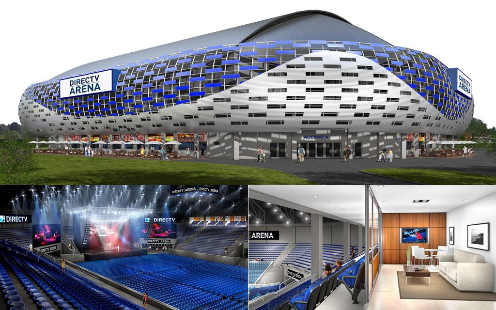 DirecTV Arena, el lugar que recibirá a Billie Eilish